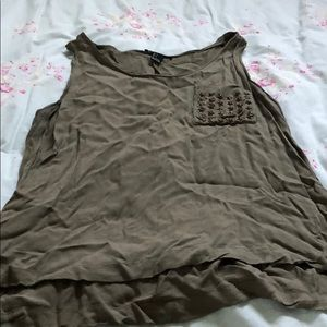 Forever 21 army green tank